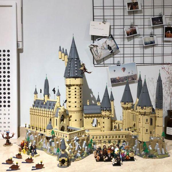 16060 Potter Movie Castle Magic Model 6742Pcs Building Block Bricks Toys Children Gift Compatible with 71043 SH190907