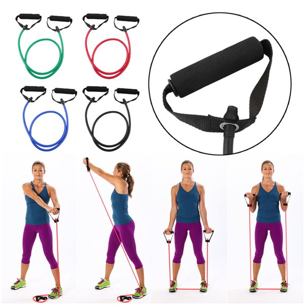 1PCS Fitness Resistance bands Door Anchor Elastic Bands For Yoga Pilates Latex Tube Training Exercise Equipment Expander Elastic