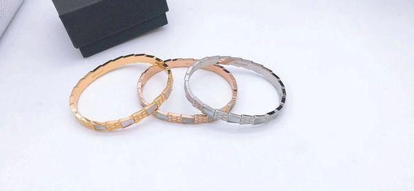 2019 bijoux de luxe de créateur de mode bijoux femmes bracelets de designer bracelet d'amour bracelet de femmes bracelets B v l accessoires de luxe (avec boîte)