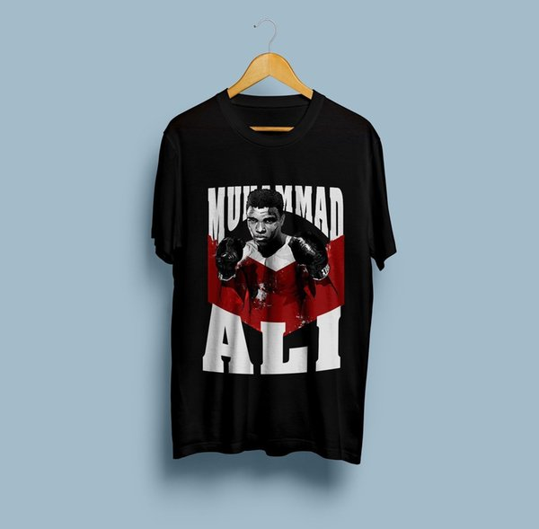 ammad Ali American Heavyweight Boxing T-Shirt Funny free shipping Unisex Casual Tshirt top