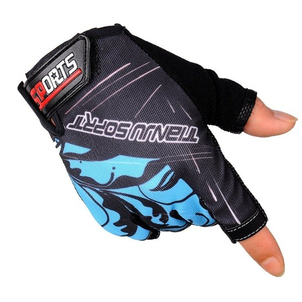 2019 motorcycle Cycling Gloves Half Finger Short Finger Bicycle Glove Motion Outdoors Mountaineering Non-slip Speed Do Glove