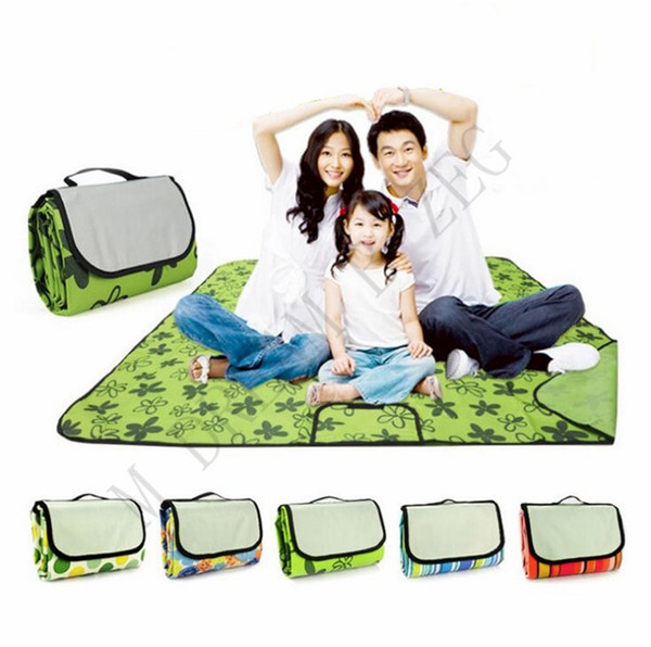 best selling Waterproof Foldable Outdoor Camping Mat 150*150cm 150*180cm 150*200cm Widen Picnic Mat Plaid Beach Blanket Baby Multiplayer Tourist Towel
