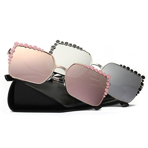 Люксовый дизайнер бренда Мода Классические женские солнцезащитные очки вождения солнцезащитные очки винтажный стиль открытый большие квадратные очки 0115
