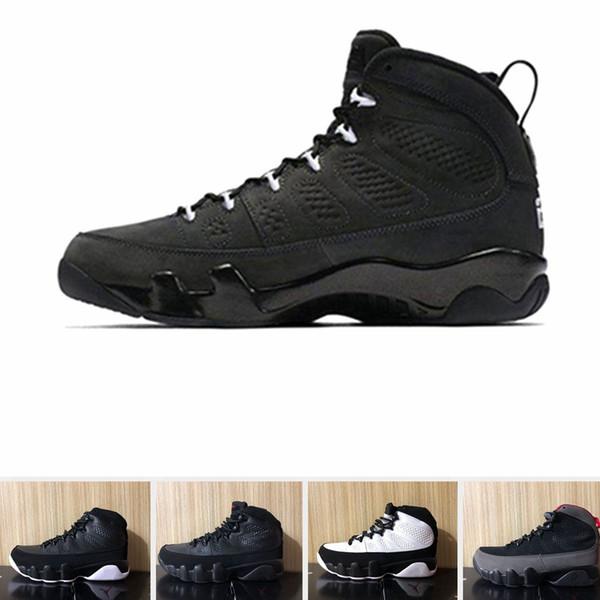 Nike Air jordan UNC 9 IX 9s Dream It Do It chaussures de basketball hommes LA Oreo University Blue Bred espace confiture Black Red Men sport Sneakers