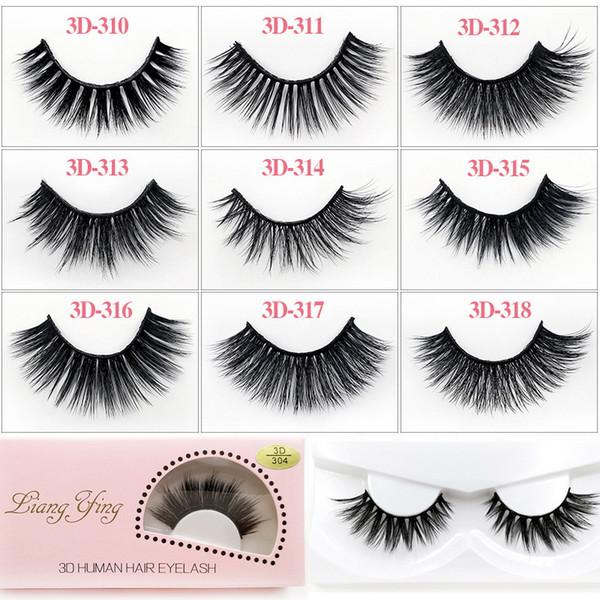 3D cílios falsos bagunçado cruz grosso natural falso olho cílios maquiagem profissional bigeye eye lashes artesanal cílios postiços