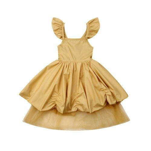 Girl Dress 2019 Summer Fancy Party Princess Tutu Dress Toddler Kids Baby Girl Clothes Costume Gifts