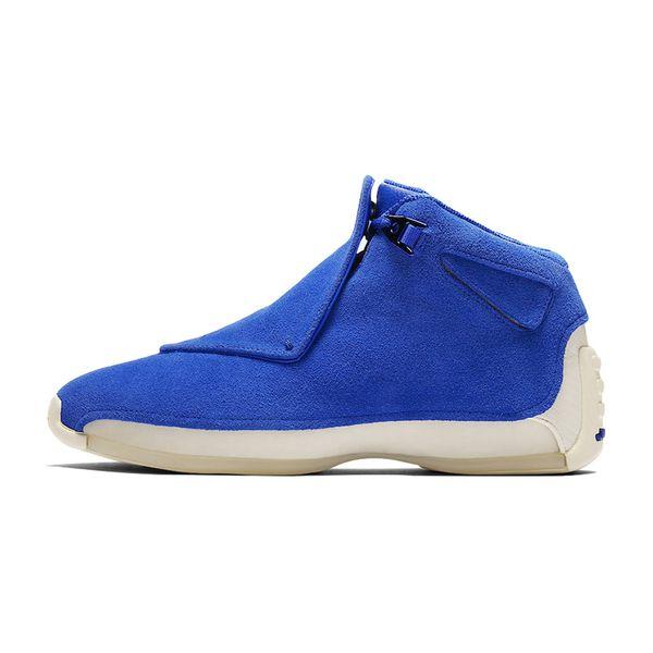 B2 blue suede