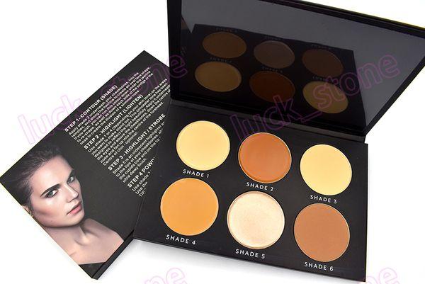 palette de maquillage de palette de maquillage de palette de maquillage de palette de maquillage de palette de contour et de poudre pressée acceptent la conception de label privé