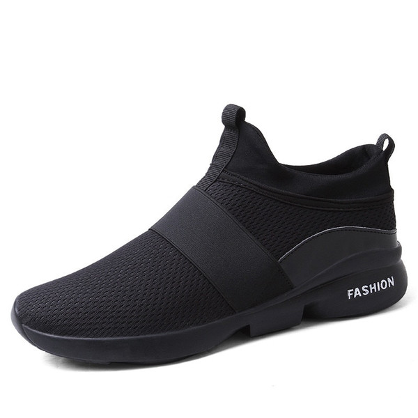 2019 Spring/Autumn New models men shoes 2018 fashion comfortable youth casual shoes For Male soft mesh design lazy