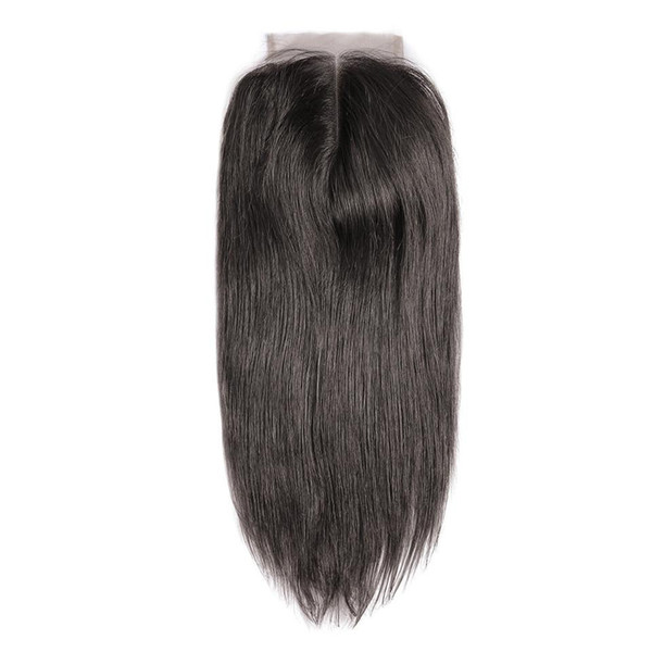 best selling 5x5 6x6 Lace Closure Brazilian Hair Straight Natural Color 100% Remy Human Hair HD Transparent Lace Closure