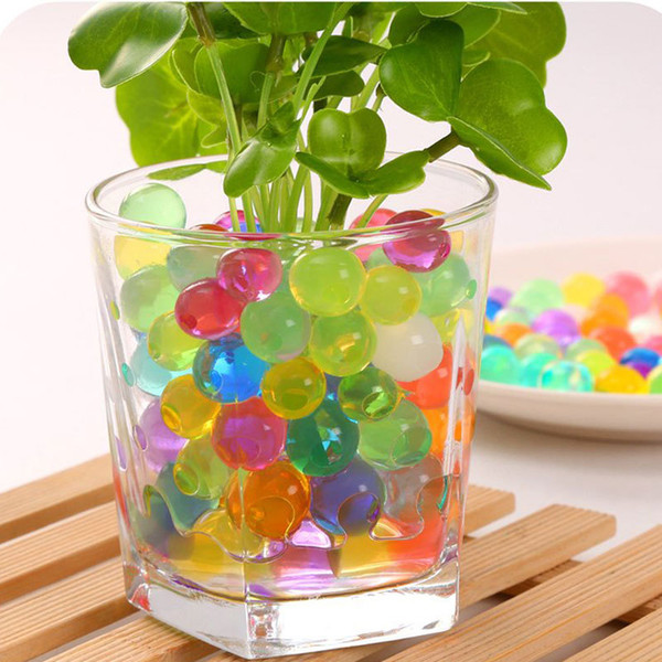 50kgs Water Pearl Beads 12 colors your pick Crystal Soil Mud Magic Plant Jelly Water absorbing crystal polymer soil moist MED