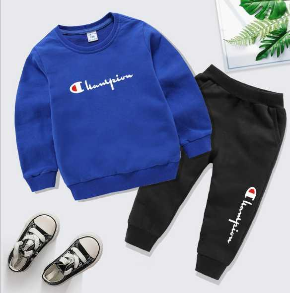 B3 heißen Verkauf Baby Tracksuits Frühlings-Herbst-Baby-Mädchen Baumwolle in voller Ärmeljacke + pants 2pcsts Jungen-Kind-Kleidungs-Satz-Baby-Set