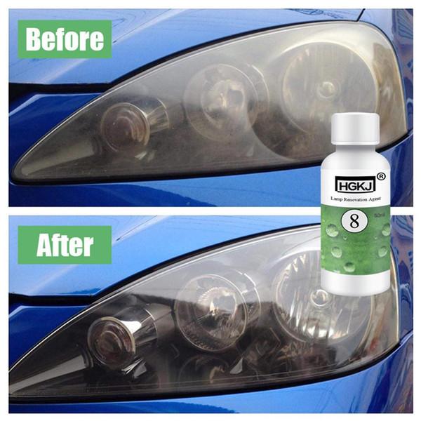 HGKJ-8 Car Lens Kit Restauro faro illuminante faro di riparazione Rinnovato agente Car Electronics - Cura Pulizia