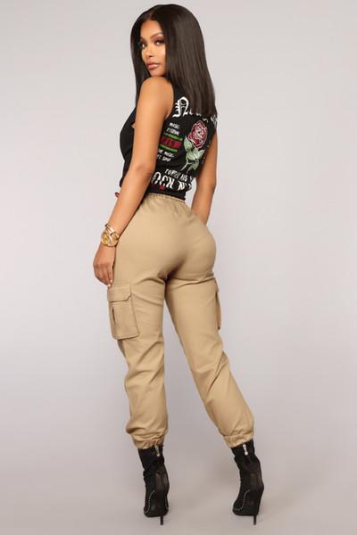 Одежда европейских и американских камуфляж случайные штаны (за исключением пояса) Белый цвет хаки зеленый Street сыпучие взрослых в Европе и Соединенных Штатах