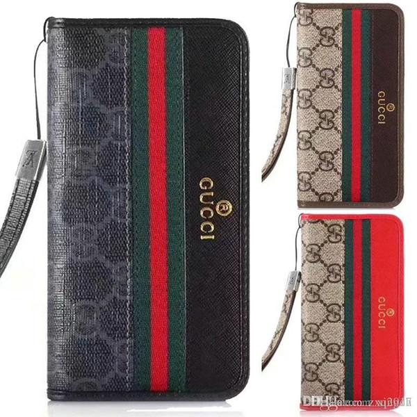 Pour iphone xs max cas marque design flip portefeuille en cuir housse téléphone pour iphone 7 7plus 8 8plus 6 6plus avec carte de poche pour iphone XR