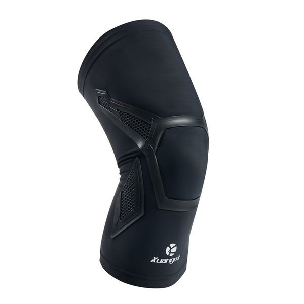 Kuangmi 1 Piece Knee Sleeve Support Compression Brace Anti Slip Pain Relief for Sports Arthritis Patella Joint Injury Recovery #119393