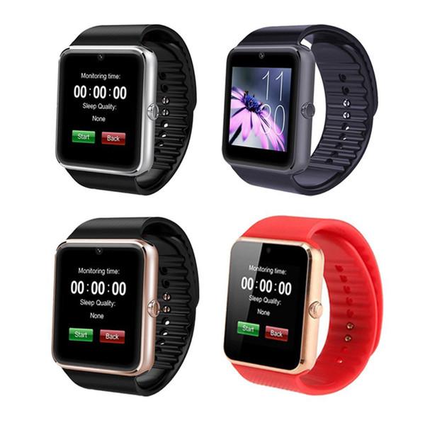 2022 Guarda Supporto GT08 Smartwatch Bluetooth DZ09 smart SIM TF card sonno Monitor Promemoria sedentari per Android Samsung iPhone IOS