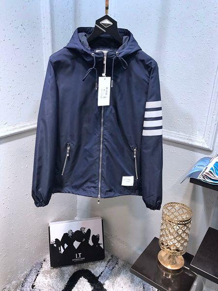 Automne discount Hommes Parka nouvelle veste de camouflage classique mode lettre logo veste simple confort décontracté sauvage tendance veste à capuchon