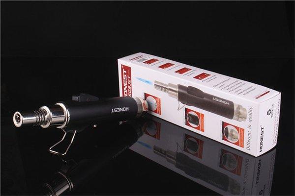 Оптовая Карандаш Jet Fllame Факел Бутан Газовая Зажигалка 1300 Градусов Сварка Сварочным Паяльной Горелкой Многоразового Использования для Курения Кухня Зажигалка