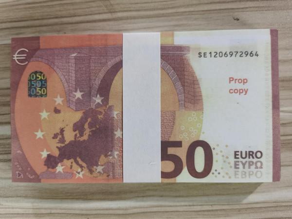 50 100pcs التي اليورو