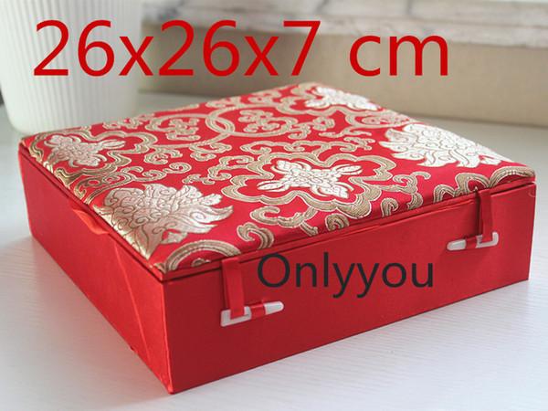 red 26x26x7cm