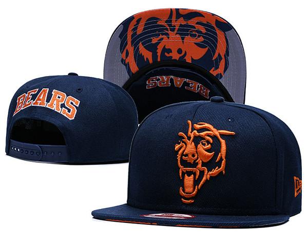 En Kaliteli Chicago Snapback Şapkalar Gorras Işlemeli Logosu Markalar Hip Hop Ucuz Spor Ayılar Beyzbol Ayarlanabilir Kapaklar Kemikleri
