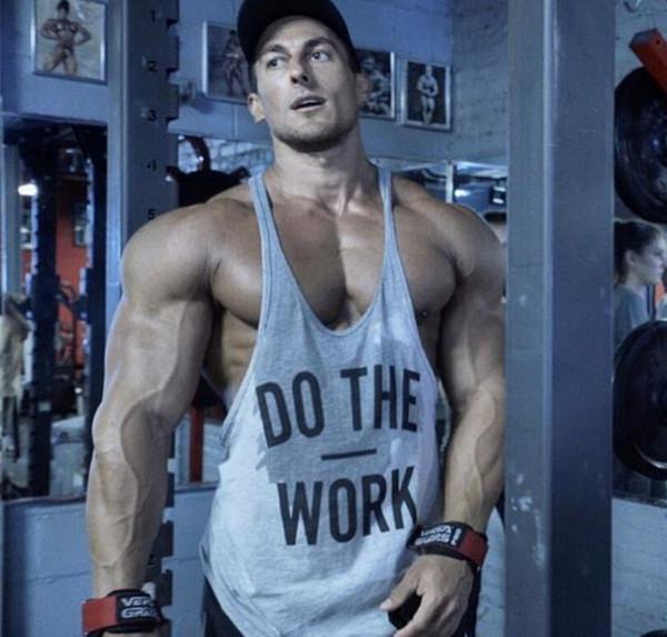Avrupa ve Amerika'da gym Spor Spor Yeni yaz erkek yelek Açık spor Moda Patlayıcı Mektup Baskılı yelek Boş zaman hareketi