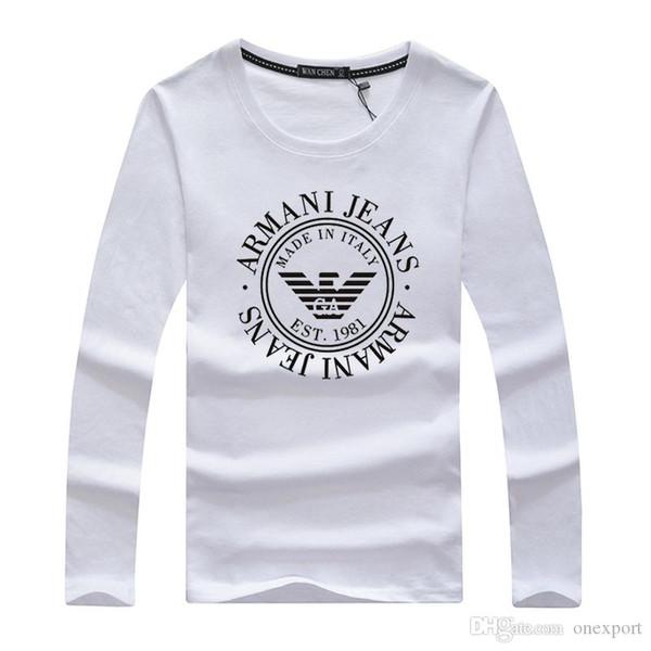 Men's Women's 100% Cotton Long-Sleeves T-Shirts Polos Tees Fashion Brand New Fashion Design Casual Active Shirts Poloshirt Tops CX