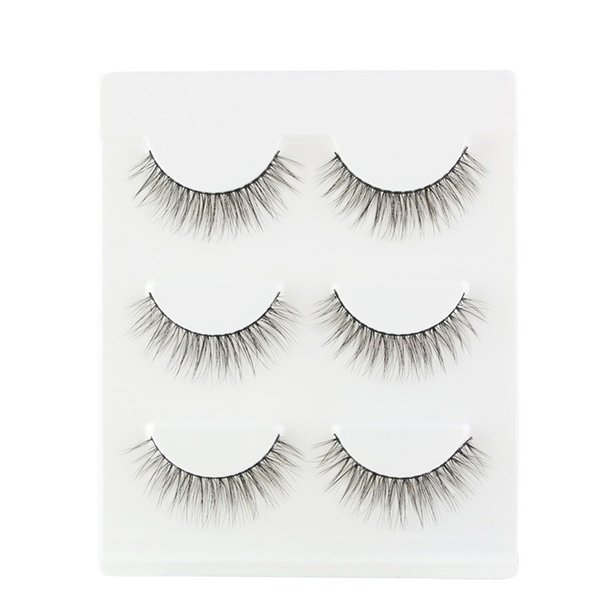 kanbuder False eyelashes 1 box Most Fashionable 3D Mink False Lashes Professional fake eyelashe Nov12
