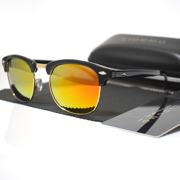 Lenses Color:A-black-orange