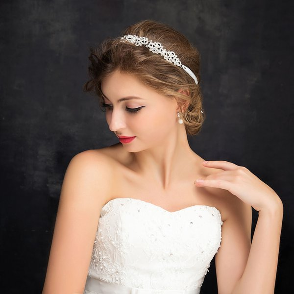 2018 Bridal Headpieces Fairy Wedding Accessories Bridal Headpieces New Arrival Free Shipping Hair accessories Cheap Sparkling