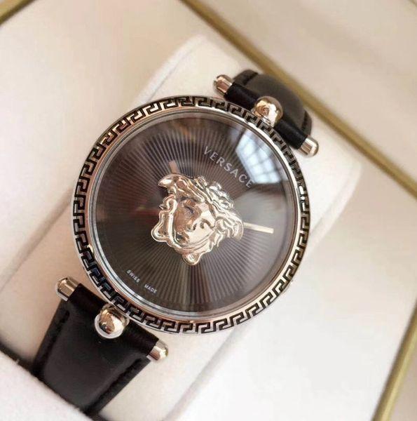 Cuoio di lusso delle donne orologi marca superiore PALAZZO Serise quarzo Donne VCO090017 montre femme signora vigilanza migliore regalo Reloj