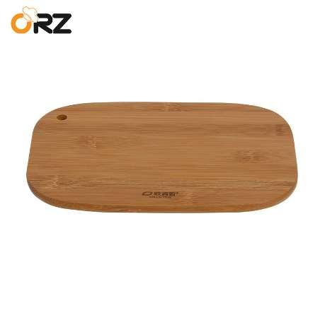 ORZ Kitchen Bamboo Cutting Borad Home Chopping Block Cake Sushi Plate Serving Tray Fruit Vegetable Chopping Boards Cooking Tools