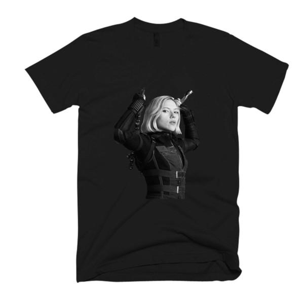 Viúva Negra Ação dos homens / das Mulheres T Shirt Engraçado frete grátis Unisex Tshirt top
