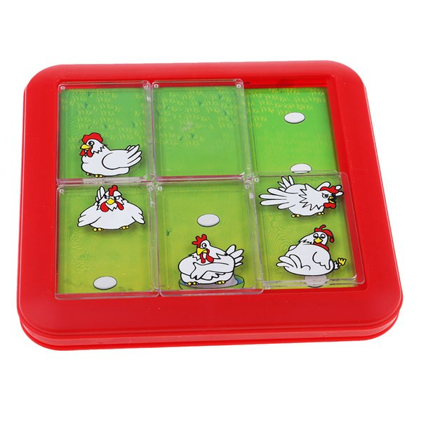 top popular Hen Looking Egg Board Game 48 Levels Toy, Chicken Growing Up Puzzle, Kids Educational Toy 2021