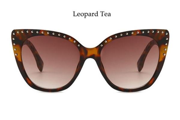 Lenses Color:leopard tea