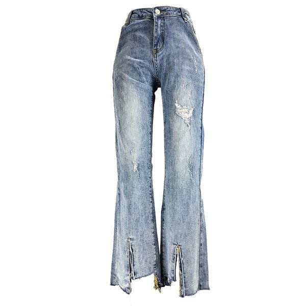 Jean Woman Mom Jeans Pants Boyfriend Jeans for Women with High Waist Push Up Large Size Ladies Denim