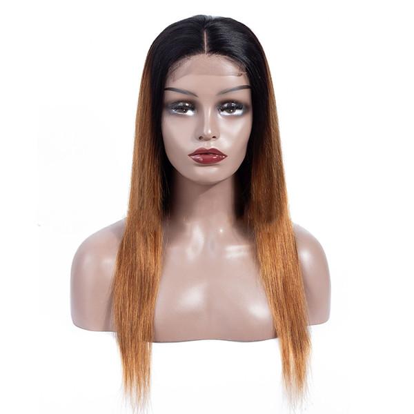Parrucche per capelli naturali non trattate con ombre e capelli lunghi