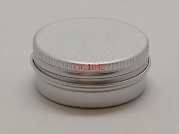 Envío gratis 15 g Aluminio Brillo de labios Contenedor 15 ml Caja de barra de labios Metal Jar Bálsamo para los labios Envasado de cosméticos, 1000 unids / lote