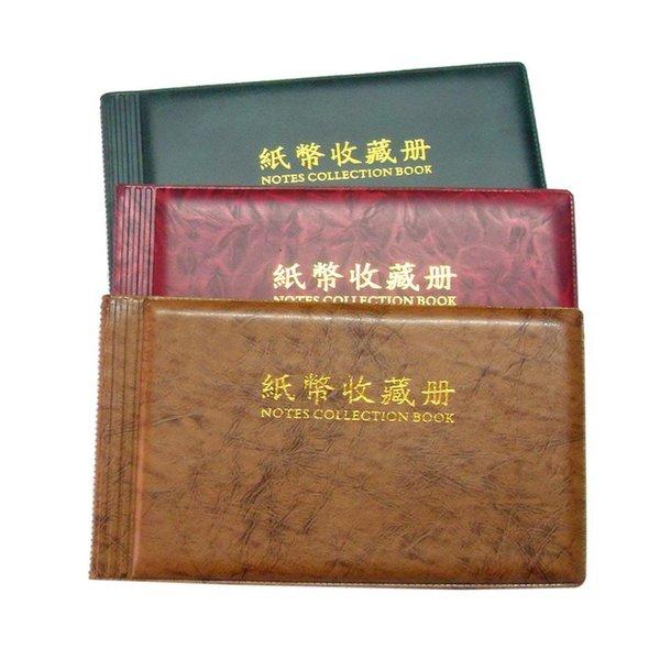 Banknotes Storage Pocket Album Wallet Dollar Bill Currency Paper Money Money, etc Holder Home, School, etc