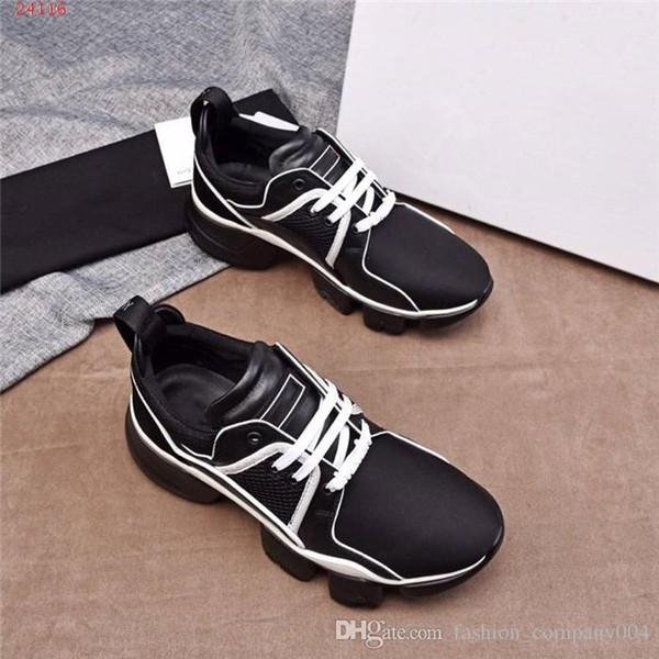 Gli uomini ultima moda morbido fondo leggero maglia scarpe casual tessuto temperamento nobile super confortevole super confortevole confortevole casu nero