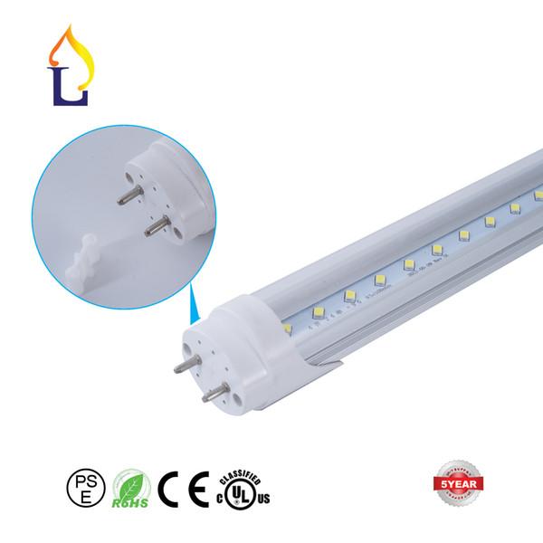 100 teile / los UL DLC ETL super helle 9 Watt 18 Watt 24 Watt 30 Watt 48 Watt T8 LED Leuchtstoffröhren Glühbirnen Lampe für Leuchtstofflampe zu ersetzen