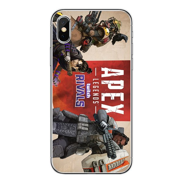 Hot Selling APEX Legands Printed Phone Case for Iphone XSMAX XR XS/X 7P/8P 7/8 6/6sP 6/6s 5/5s/se Samsung Cases New Arrival 30 Styles