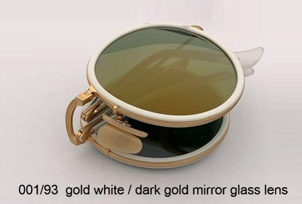 001/93 الذهب الأبيض / الذهب مرآة