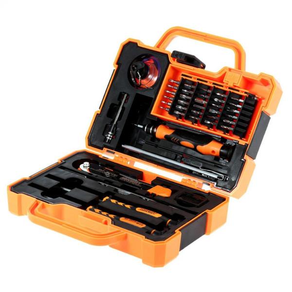 45 in 1 Disassembling Repair Tool Multi Bits Precision Screwdriver Set with Tweezers Suitable for PC / Phone / Laptop