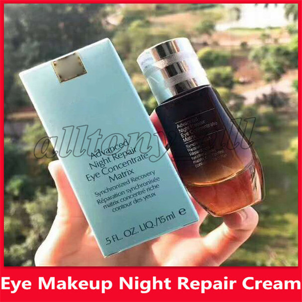 top popular Hot Eye Makeup Eyes Care Moisturizing Advanced Night Repair Eye Concentrate Matrix 15ml Synchronized recovery Hydrating Eye Lotion 2019