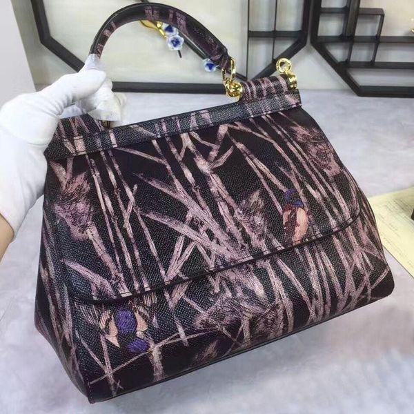 Brand Women new Fashion Genuine leather Handbag Female Small Shoulder Crossbody Messenger three-use bags