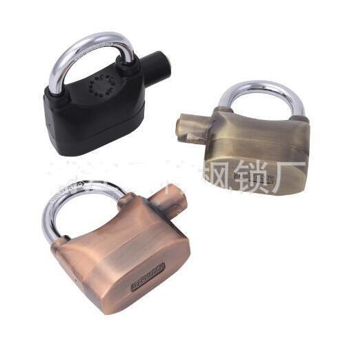 Best selling white alarm lock outdoor bicycle high decibel anti-theft lock door and window cabinet lock