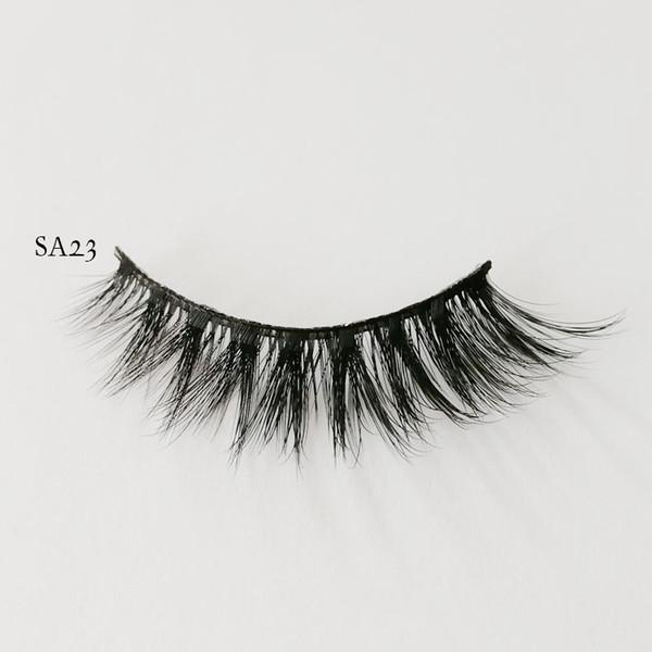 False Eyelashes Winged Silk Eyelash Extension Thick Faux Mink Eyelashes Fluffy Lashes Beauty Makeup Accessories 9