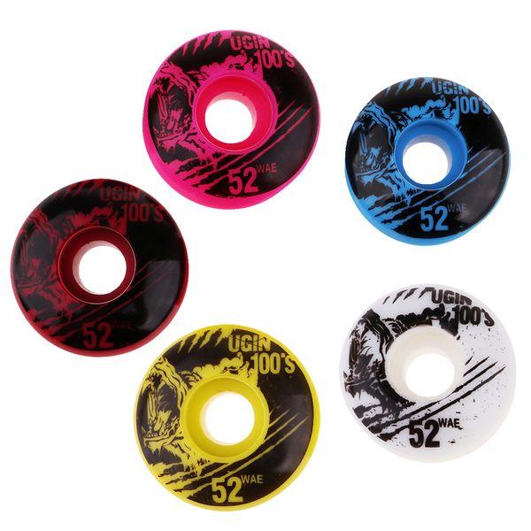 4 pezzi leggeri di alta qualità 4 pezzi / set 52x30mm ruote da skateboard ruote in PU durevoli parti di scooter accessori per pattini